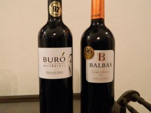 2009 Bodegas Pascual Buro and 2001 Bodegas Balbas Gran Reserva