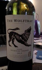 2013 Wolftrap Syrah, Mourvedre, & Viognier
